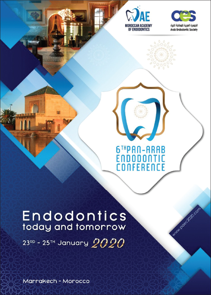Saudi Endodontic Journal : Table of Contents