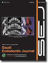 Saudi Endodontic Journal